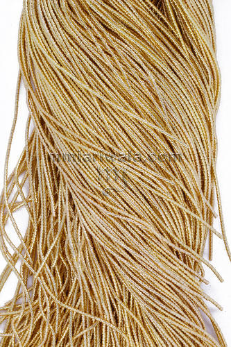 Light Gold Cut Dabka Zari For Embroidery Threads At Rs 1100