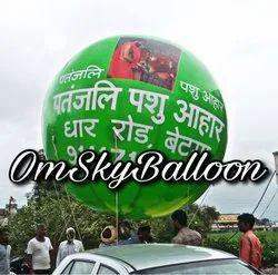 Printed Advertising Sky Balloon