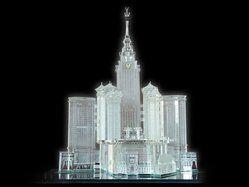 Modern Church Crystal Miniatures