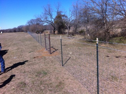 Wire Fencing Installation Service