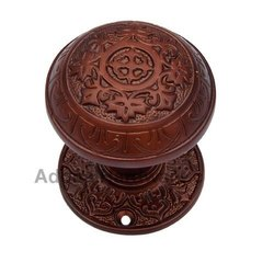 Abdeel Silicon Bronze Door Knob with Rose