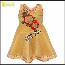 QT Pie Girls Dress DN 2434 bgn
