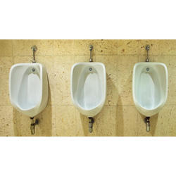 White Ceramic Urinals