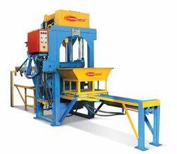 Stationary Automatic Concrete Block Making Machine