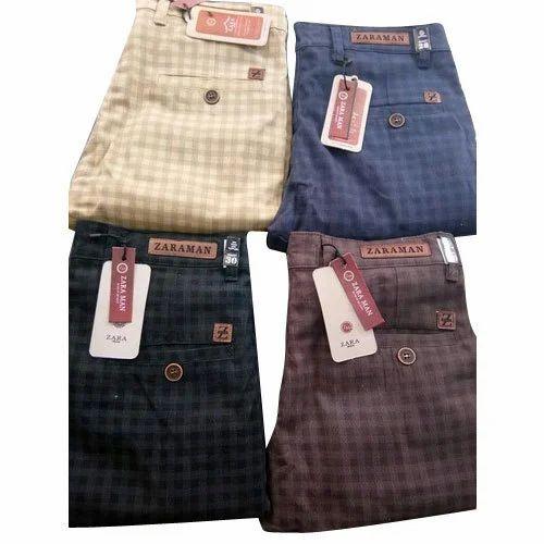 266677b6 Men Cotton Check Pant, Rs 300 /piece, Sri Premdeep Garments | ID ...