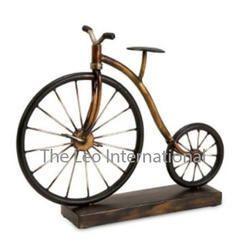 Decorative Cycle sculpture Iron Metal Handicraft Item