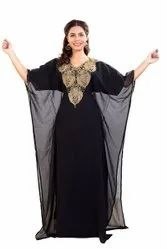 Dubai Abaya Maxi Dress Evening Gown