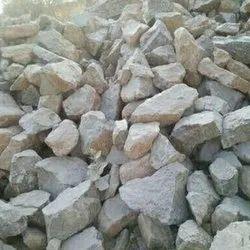 White Calcium Carbonate Calcite Lime Stones Lumps, Grade: Industrial Grade, Packaging Size: 50 Kg