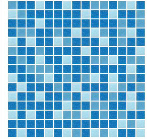 Pristine And Johnson Blue Green Random Mix Gl Mosaic Tiles 0 5 Mm