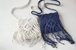 Macrame Cotton Bag