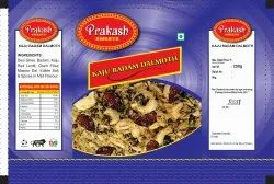 2 Layer Kaju Badam Dalmoth Mixture Namkeen Pouch