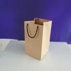 Nirvana Enterprise Brown 1Kg Craft Paper Carry Bags