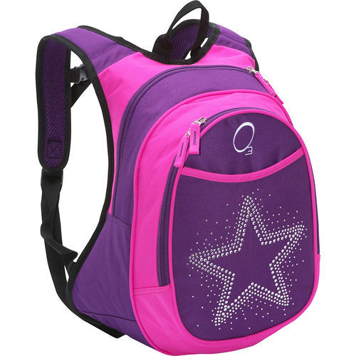 389a50daecb3 Pink And Purple Girls School Bag