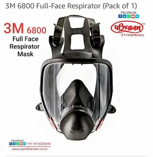 3m 6800 Full Face Respiratory Mask, MEDICAL