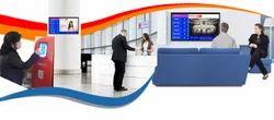 Que Management System- Token Display with Token Dispensing Printer Machine