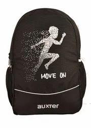 Shoulder Backpack Unisex School Bag With 3 Zip Compartments, For Casual Backpack