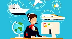 Corporate Web PHP Travel Agency CMS IT Services, Application Type: Industrial