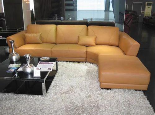 Light Yellow Sofa Set