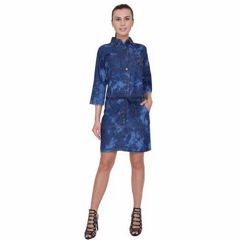91abd74298b Ladies Denim Shorts Dress