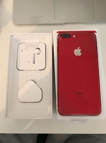 Iphone 7 Plus Red Color 128gb At Rs 18000 Unit