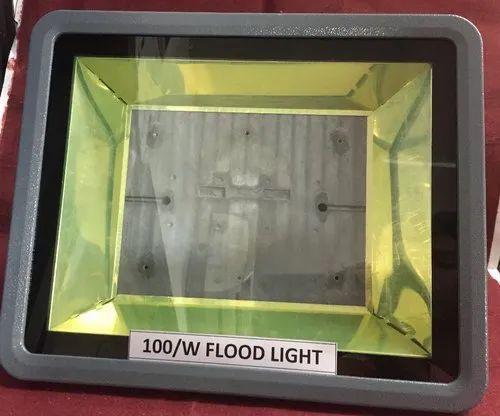 LED 100/ W FLOOD LIGHT  HOUSING, For Outdoors