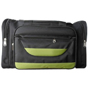 900*900 Code Black And Green Travelling Bag, Size: S To Xl