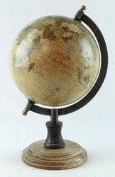 Wooden Base World Globe