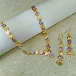 孟买仿珠宝双色项链套装,场合:派对,周年纪念