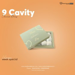 9 Cavity Chocolate Boxes