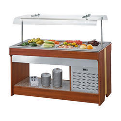 Wooden Salad Bar