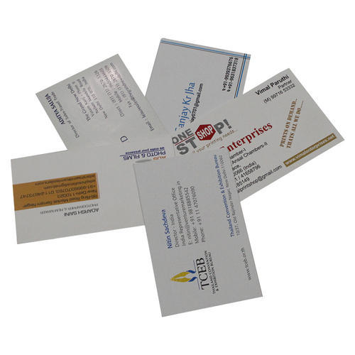 Embossed Business Card Printing Service In Bhikaji Cama Place New