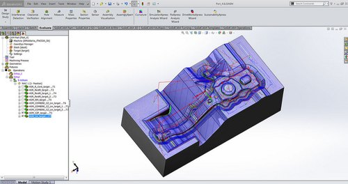 SolidCAM - 3D High Speed Milling - HSR/HSM Modules