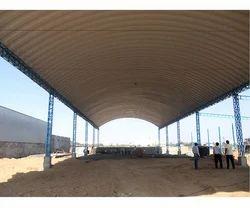 Fiberglass Roof Structure