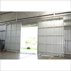 Industrial MS Sliding Door