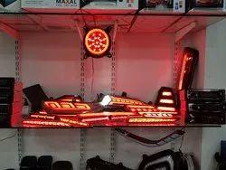 Gvaa Red LED Bumper Reflectors