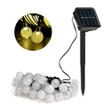 Hardoll Crystal Ball Solar Decorative String Light or Diwali Lights for decoration