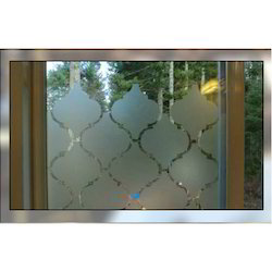 Frosted Office Glass Partition