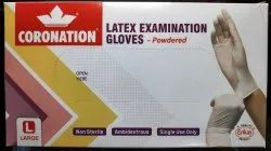 Powdered - Latex Examination Gloves