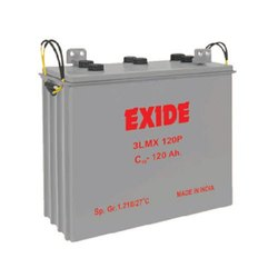 Exide LMX Train Lighting Battery, 6 V, Capacity: 120 Ah