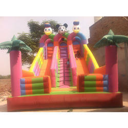 Outdoor PVC Inflatable Slide