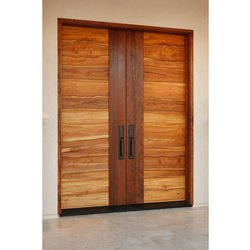 Entrance Wooden Double Door
