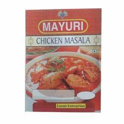 Chicken Masala Powder, Packaging Type: Packets
