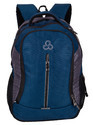 Indigo L Grey Elegant Stylist Casual Backpack Bag