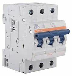 Three Phase 415 V C&S 3 Pole Miniature Circuit Breaker, 4.3, Ka