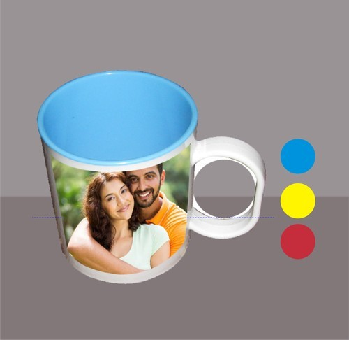 Ceramic MKB-55 Sublimation Polymer Mug, Capacity: 200 Ml, for Gifting