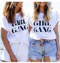 Girls White T Shirt