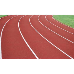 Outdoor PU Running Track Flooring Service