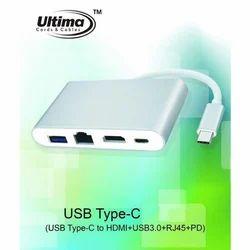 Type C To HDMI ,USB LAN