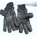 Black Polyester Gloves