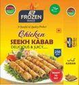 Frozen Chicken Onion  Seekh Kabab